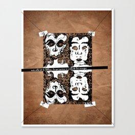 violación Canvas Print