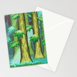 Forest of Pixels Stationery Cards