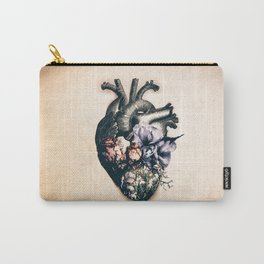 My Blossomed Heart Carry-All Pouch