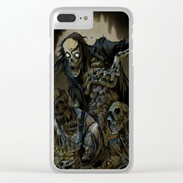 BORN OF MUD Clear iPhone Case