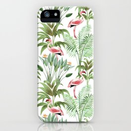 Flamingo iPhone Case