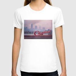 Homesick - Cleveland Skyline T-shirt