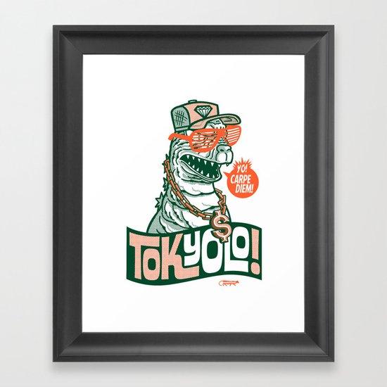 Tokyolo ($imple variant) Framed Art Print
