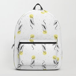 Yellow aliens. Backpack