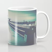 boardwalk empire Mugs featuring Boardwalk by SilverTwig