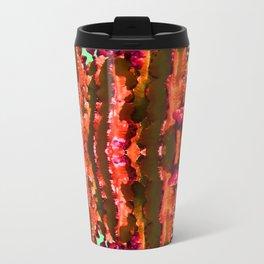 Surreal Cactus Art Travel Mug