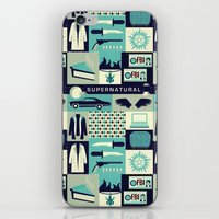 risa rodil iPhone & iPod Skins featuring Carry on my wayward son by Risa Rodil