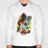 transistor Hoodies featuring Like It's Written in the Stars - Transistor by Stephanie Kao