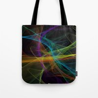 destiny Tote Bags featuring Destiny by Christine Workman