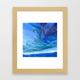 Clouds 5 Framed Art Print