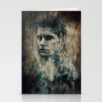 dean winchester Stationery Cards featuring Dean Winchester by Sirenphotos