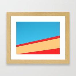 Skymetric Framed Art Print