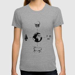 Anthropology: The Four Subdisciplines (Version 2.0) T-shirt