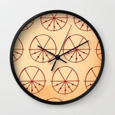 Circle Sections Wall Clock