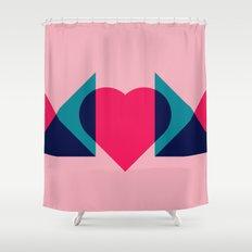 HEART MOM Shower Curtain