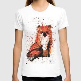 Sitting Fox T-shirt