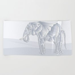 Stone Elephant Beach Towel