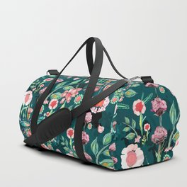 Botanical Dragonfly Garden Duffle Bag