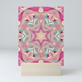 Flower Of Life Mandala (Sweet Embrace) Mini Art Print