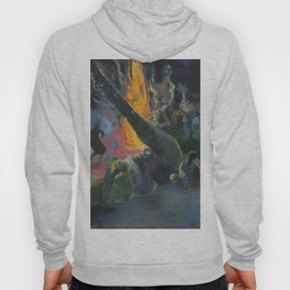 Upa Upa (The Fire Dance) by Paul Gauguin Hoody