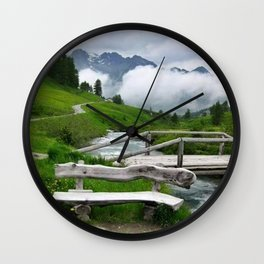 GREEN ART Wall Clock