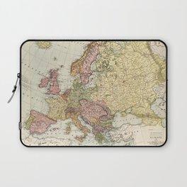 Atlas Map of Europe (1912) Laptop Sleeve