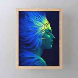 Sea Queen Framed Mini Art Print