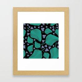 Patterns Floral Design Framed Art Print