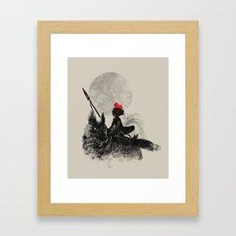 Princess Monokiki Framed Art Print
