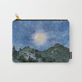 Starry Night Sunrise Carry-All Pouch