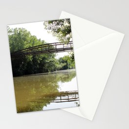 Murky Water under the Bridge Stationery Cards