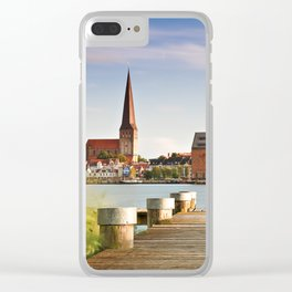 View to Rostock Clear iPhone Case