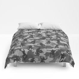 Skater Camo B&W Comforters
