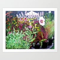 Garden Center Art Print