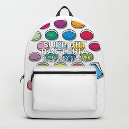 Support Bacteria Backpack