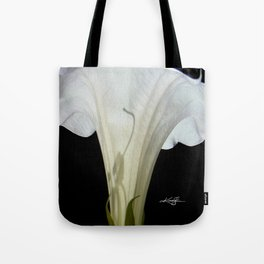 Moon Flower by kathy Morton Stanion Tote Bag
