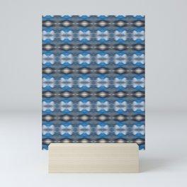 WILDEST Stormy Evening Abstract Pattern Mini Art Print