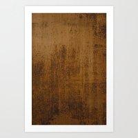 Lamina oxidada Art Print