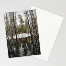 Snowy Forest Grammer Stationery Cards