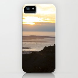View of the San Francisco Bay Area from Grizzly Peak iPhone Case