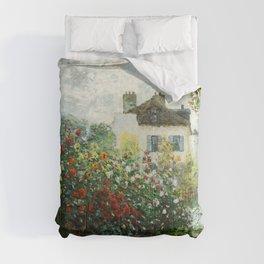 The Artist's Garden in Argenteuil - Copy from Monet Comforters