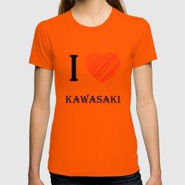Kawasaki Classic. I love my favorite city. T-shirt