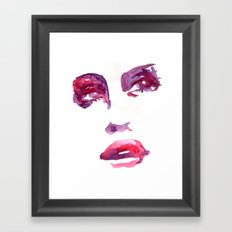 Lady R Framed Art Print