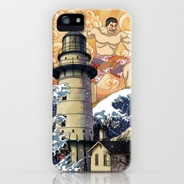 lighthouse orient iPhone Case