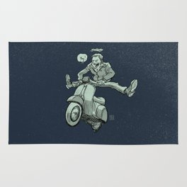 Scootering Rug