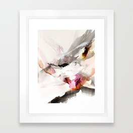 Day 23: Senses may override the mind, but a steady mind can abrogate the senses. Framed Art Print