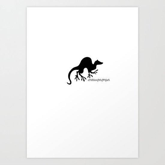 Ferret 1 Art Print