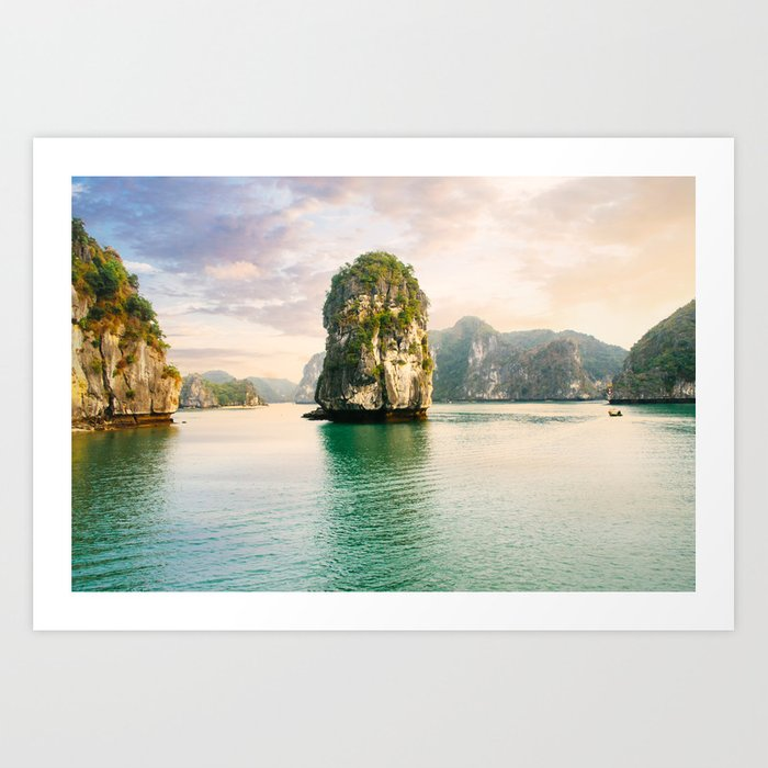 Incredible Halong Bay Art Print