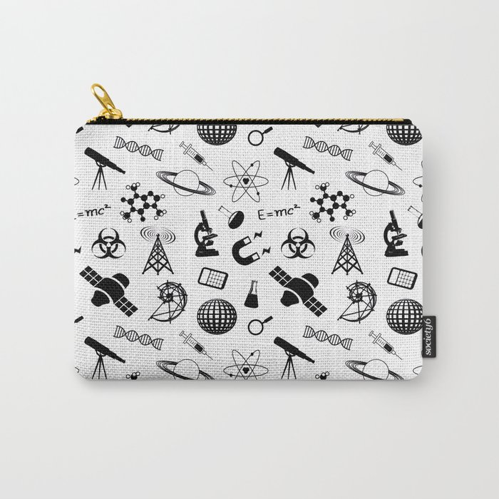 Symbols of Science Carry-All Pouch