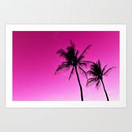 Pink Aloha Art Print